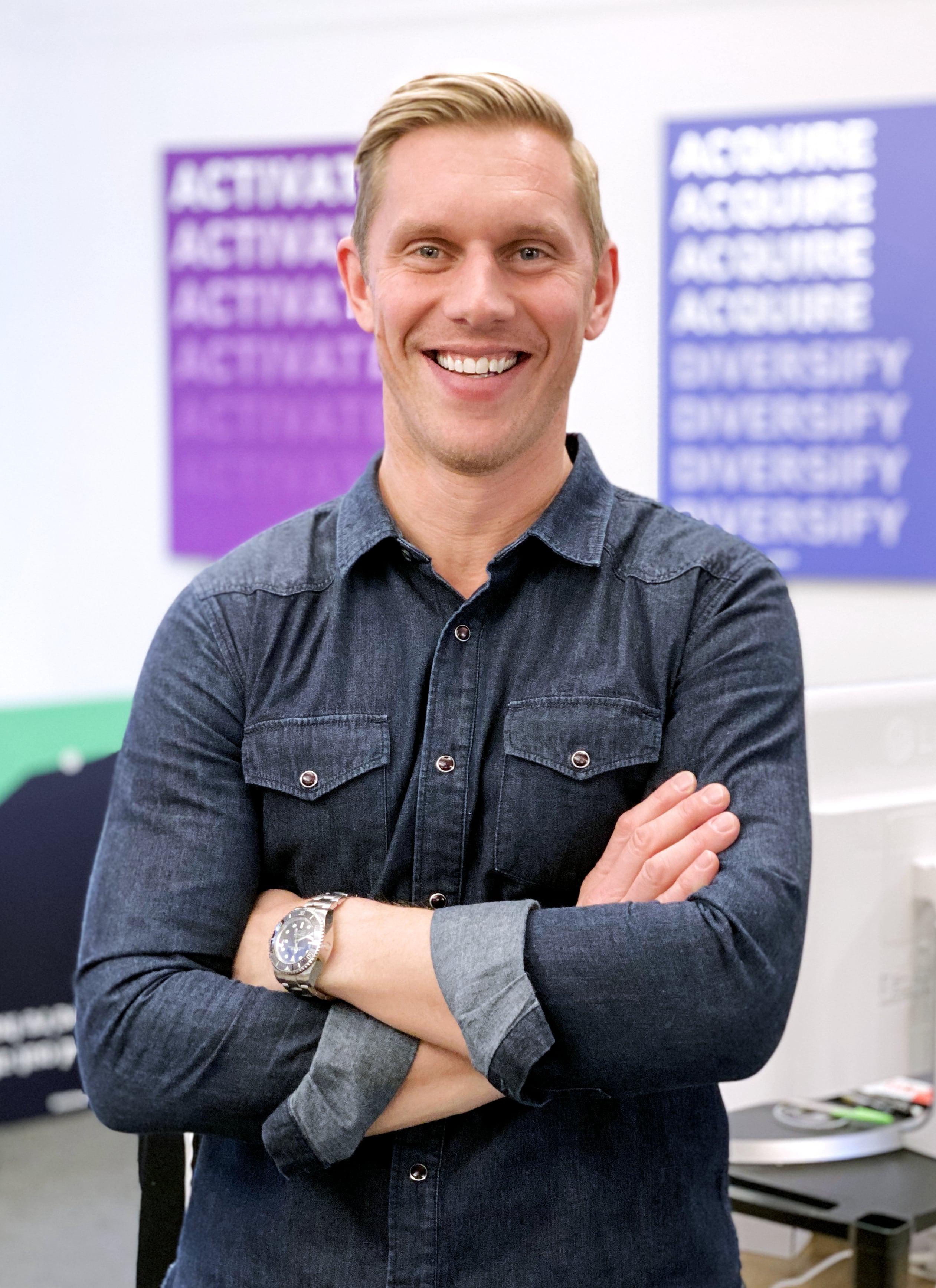 Portrait of VP of Sales Kevin Baumgart