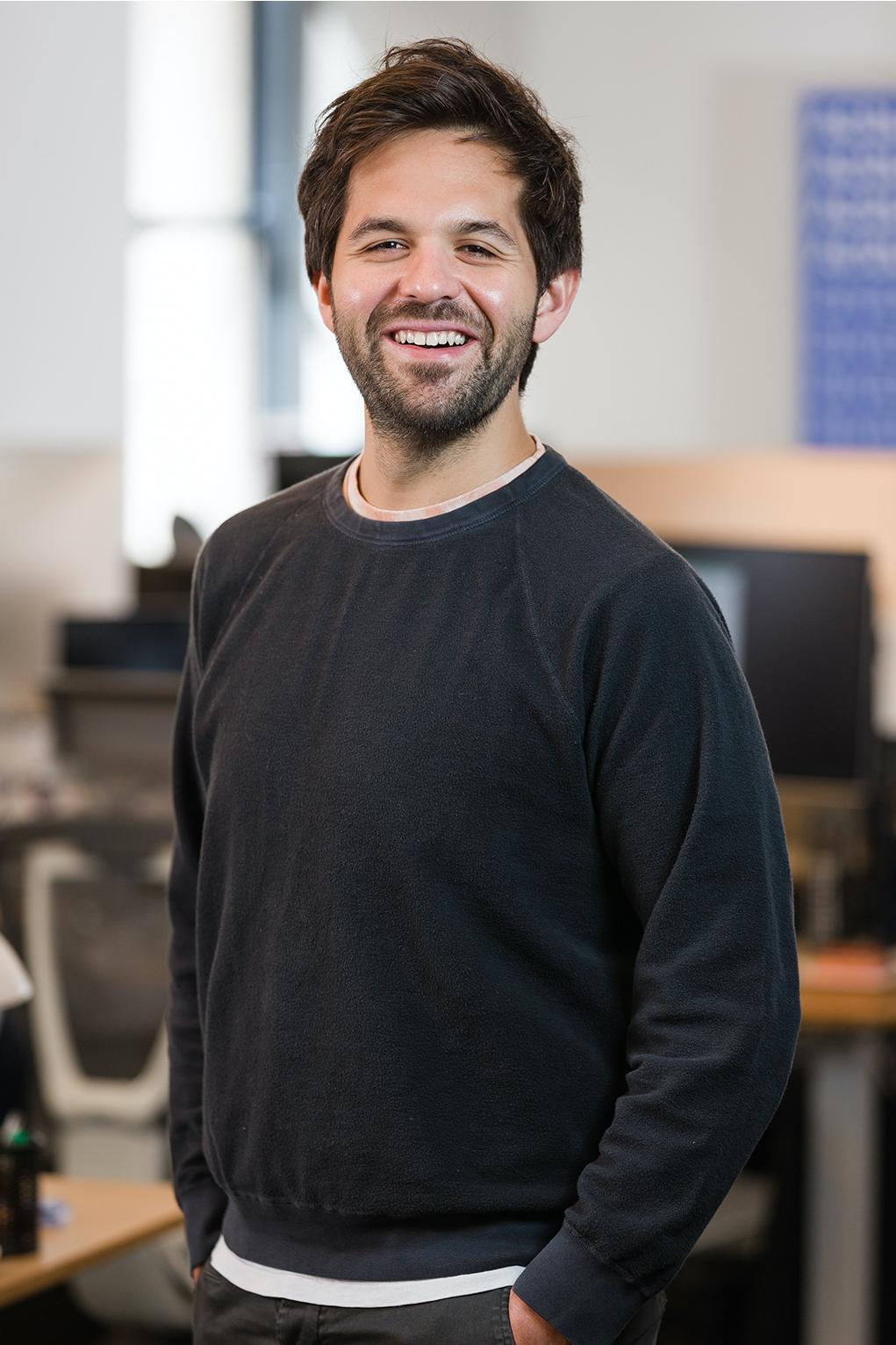 Portrait of CEO Ben Forgan
