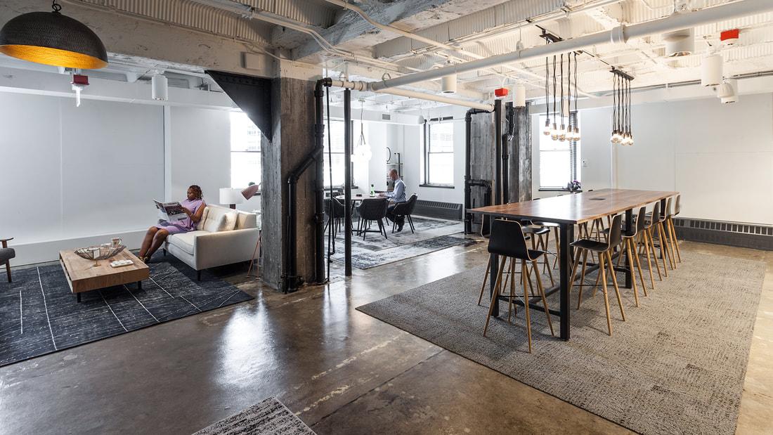 Work space at 1 N. LaSalle